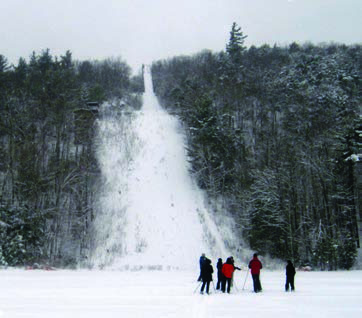 How Big Is Gunstock's Ski Jump?
