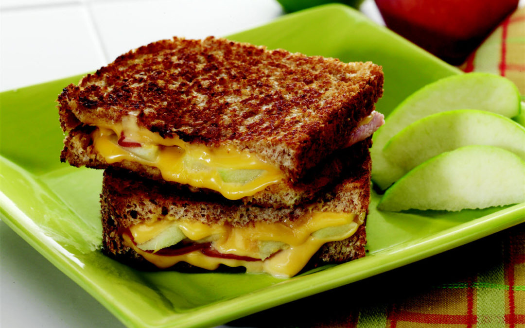 A Grown-Up Grilled Cheese Sandwich