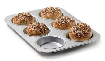 Multi-Seed Hamburger Buns