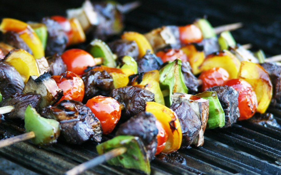 Make Summer Sizzle with Grilled Kabobs