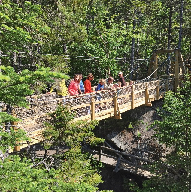 New expansion at the Lost River Gorge & Boulder Caves is the First in 30 Years