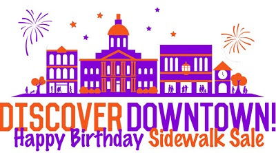 Happy Birthday (Concord) Summer Sidewalk Sale – August 8th