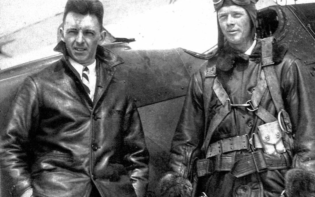 History Lane: Lindbergh's landing