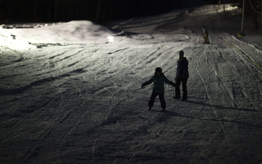 A downhill skiing tradition at Franklin park